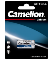 Литиева батерия CR123 CR123A - Camelion