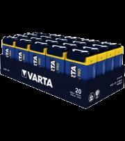 Алкални батерии 9V Varta Industrial 9V - 20 броя