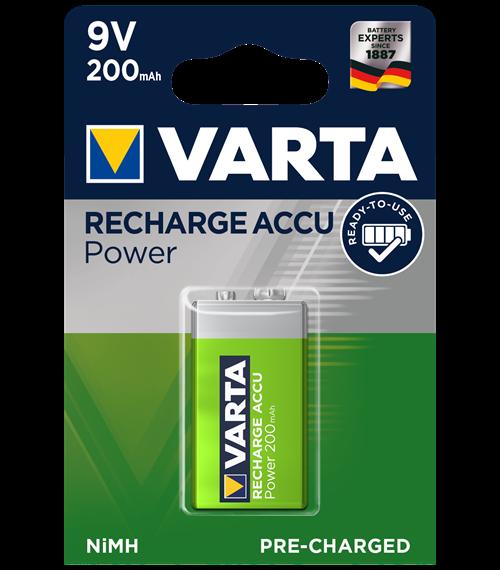 Varta Ready2Use 9V 200mAh BL1