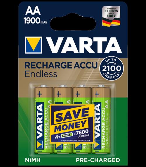 Акумулаторни батерии АА Varta Ready2Use AA Toys - 2400 mAh