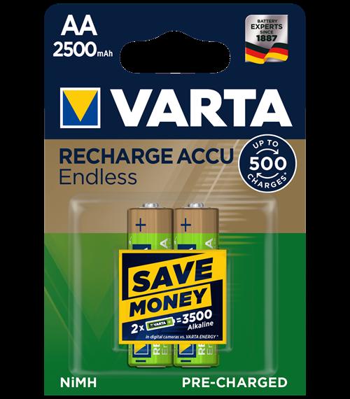 Акумулаторни батерии Varta Ready2Use AA Toys 2400mAh 4бр.