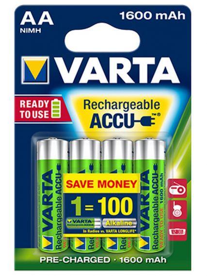 Varta Ready2Use AA 1600mAh BL4