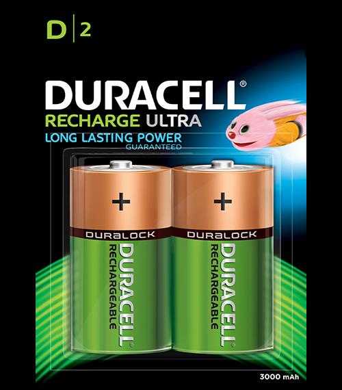 DURACELL HR20 D 2200mAh BL2