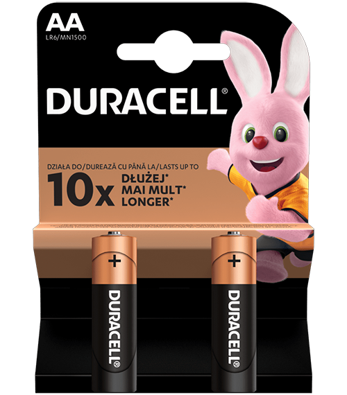 Duracell Basic MN1500 AA BL2