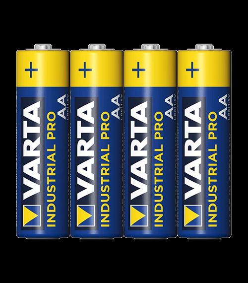 Алкални батерии АА Varta Industrial AA - 4 броя