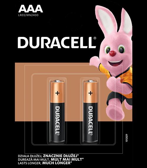 Алкални батерии ААА Duracell Basic AAA MN2400