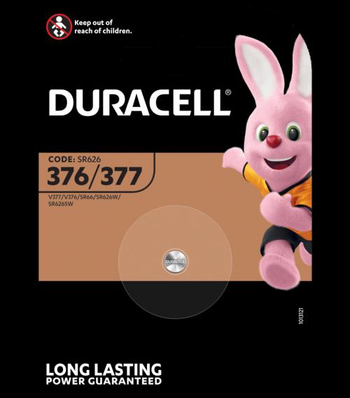 Батерия за часовник 377, V377, D377 - SR626SW - Duracell