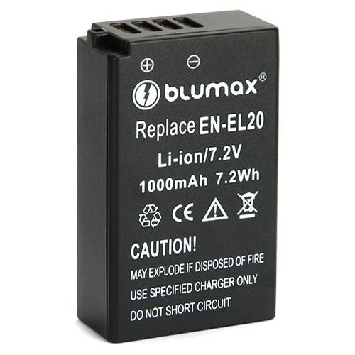 Blumax батерия за Nikon EN-EL20 800mAh