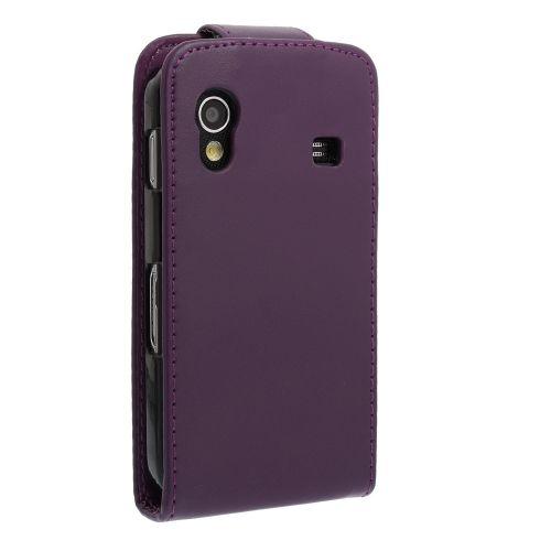 FLIP калъф за Samsung Galaxy ACE GT-S5830 Purple