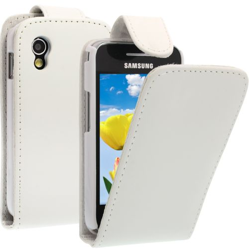 FLIP калъф за Samsung Galaxy Ace GT-S5830 White