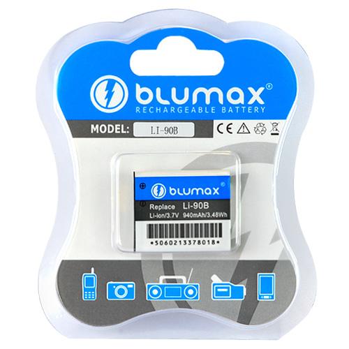 Blumax батерия за Olympus Li-90B 940mAh