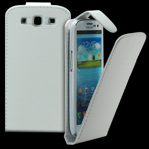 FLIP калъф за Samsung Galaxy S3 i9300 White
