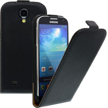 FLIP калъф за Samsung Galaxy S4 i9500 Естествена кожа Black