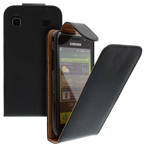 FLIP калъф за Samsung Galaxy S1 i9000 Black