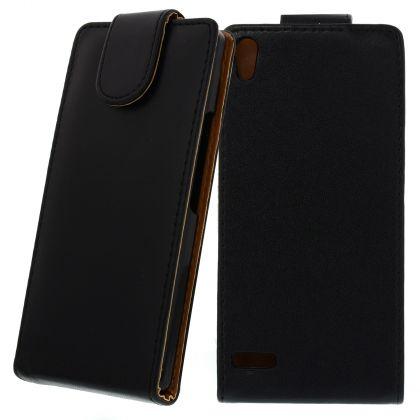 FLIP калъф за Huawei Ascend P6 Black
