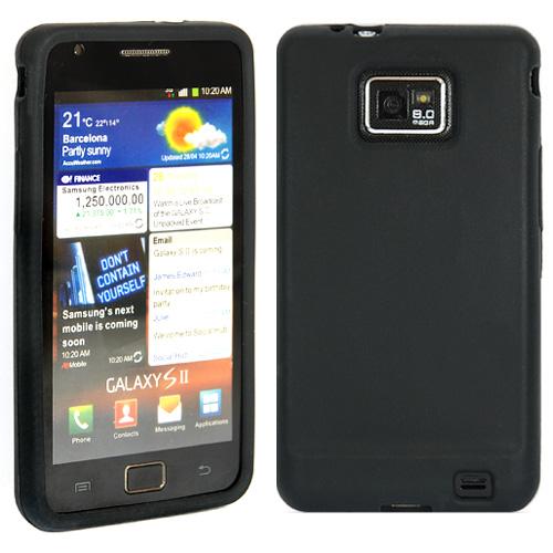 Силиконов кейс за Samsung i9100 Black