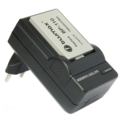 Батерия за Canon BP-110  1000mAh + зарядно устройство
