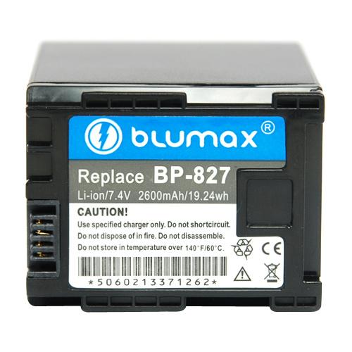 Батерия за видеокамера Canon BP-827 Wireless 2400mAh