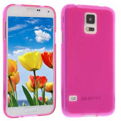 Силиконов кейс за Samsung Galaxy S5 pink