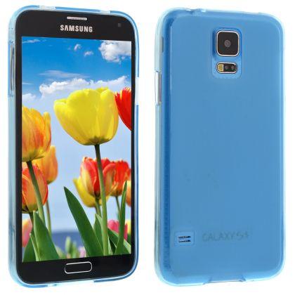 Силиконов кейс за Samsung Galaxy S5 light blue