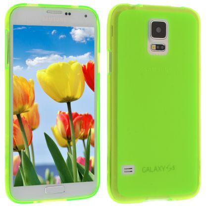 Силиконов кейс за Samsung Galaxy S5 green