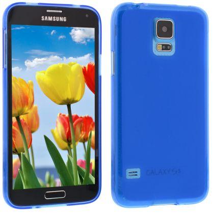 Силиконов кейс за Samsung Galaxy S5 blue