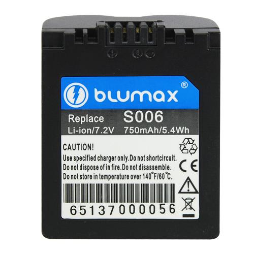 Blumax батерия за Panasonic CGR-S006 Li-Ion 750mAh