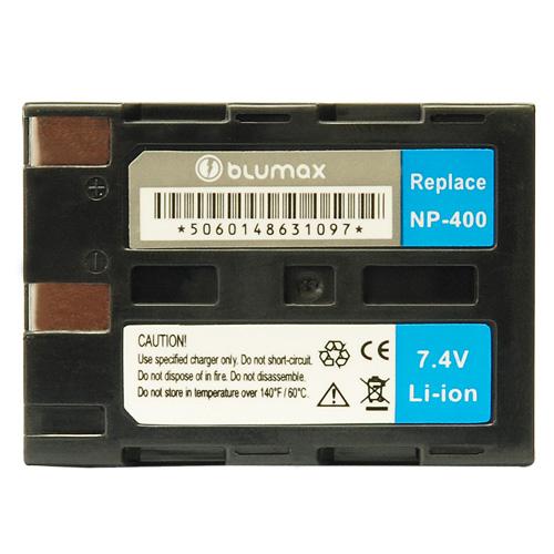 Blumax батерия за Minolta NP-400 Li-Ion 1650mAh