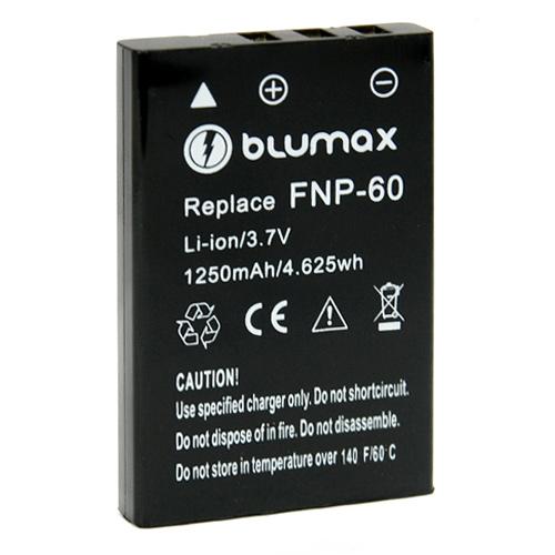 Blumax Battery for Fuji NP-60 Li-lon 1200mAh