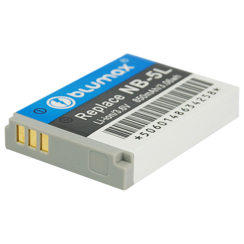 Батерия за фотоапарат Canon NB-5L  Li-Ion  1100mAh