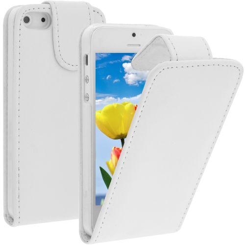 Калъф за телефон iPhone 5 - Бял