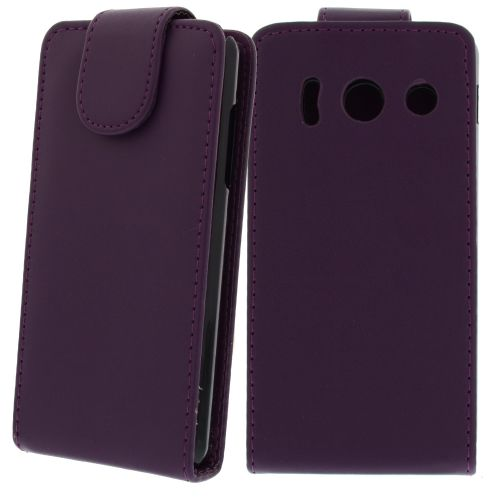 FLIP калъф за Huawei Ascend Y300 Purple