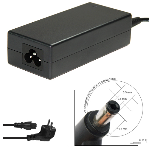 Зарядно за лаптоп за IBM 16V 4,5A 72W 5,5x2,5mm