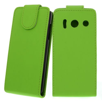FLIP калъф за Huawei Ascend Y300 Green