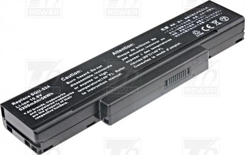 Батерия за лаптоп Asus A42-A9,A42-Z94,A32-Z94,SQU-503,SQU-511,SQU-524,BTY-M66, 5200 mAh