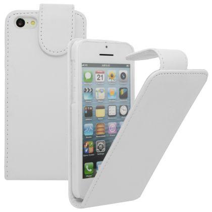 FLIP калъф за Apple iPhone 5c White(Nr 15)