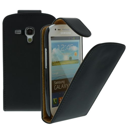 FLIP калъф за Samsung i8190 Galaxy S3 mini Black