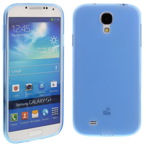 Silicon Case for Samsung Galaxy S4/i9500 Blue
