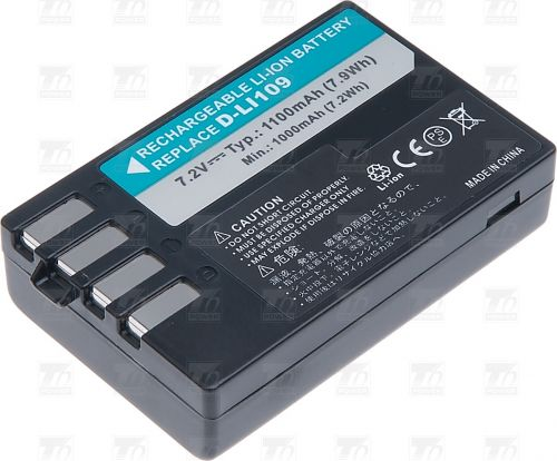 Батерия за фотоапарат Pentax D-Li109, 1100 mAh