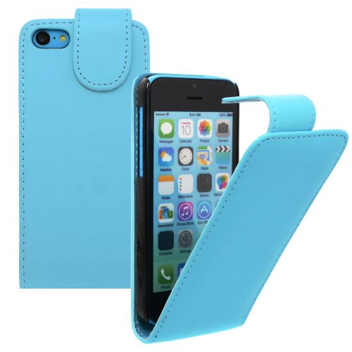 FLIP калъф за Apple iPhone 5c Hell Blue(Nr 19)