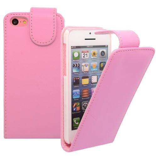FLIP ????? ?? Apple iPhone 5c Pink (Nr 13)