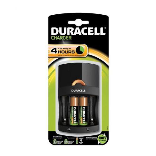 Зарядно у-во Duracell CEF14 4h + 2xAA 1300mAh