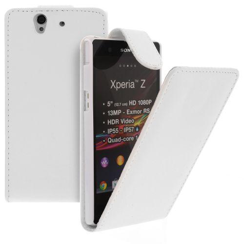 FLIP калъф за Sony Xperia Z White (Nr 15)