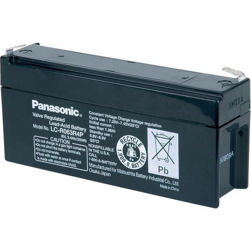 PANASONIC  6V / 3.4 Ah LC-R063R4P