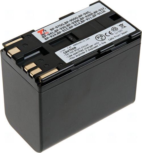 Батерия за видеокамера Canon BP-911, BP-914, BP-911K, BP-915, BP-924, BP-927, BP-930, BP-930E, BP-930R, BP-941, BP-945, BP-950, BP-950G, 6900 mAh
