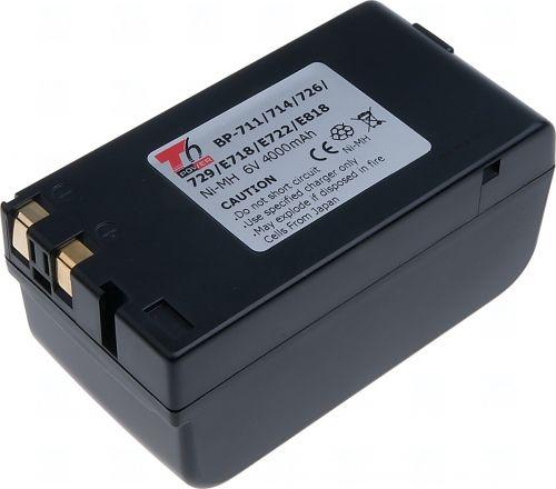 Батерия за видеокамера Canon BP-711, BP-714, BP-818, BP-E718, BP-E722, BP-726, BP-729, BP-E818, BPE77, BP-E77K, 4000 mAh