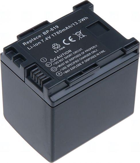 Батерия за видеокамера Canon BP-809, BP-819, 1600 mAh