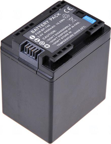 Батерия за видеокамера Canon BP-745, BP-727, BP-718, BP-709, 4450 mAh