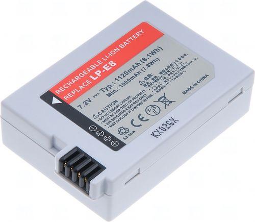 Батерия за фотоапарат Canon LP-E8, 950mAh