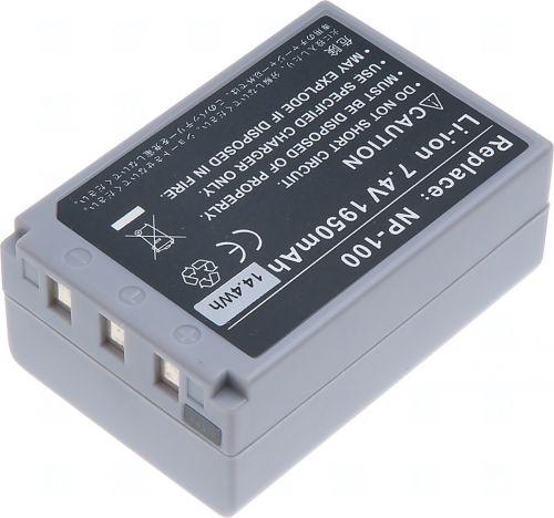 Батерия за фотоапарат Casio NP-100, 1950 mAh